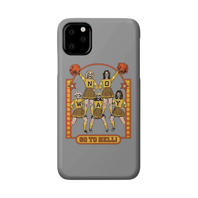 Go To Hell! Accessories Phone Case by Steven Rhodes