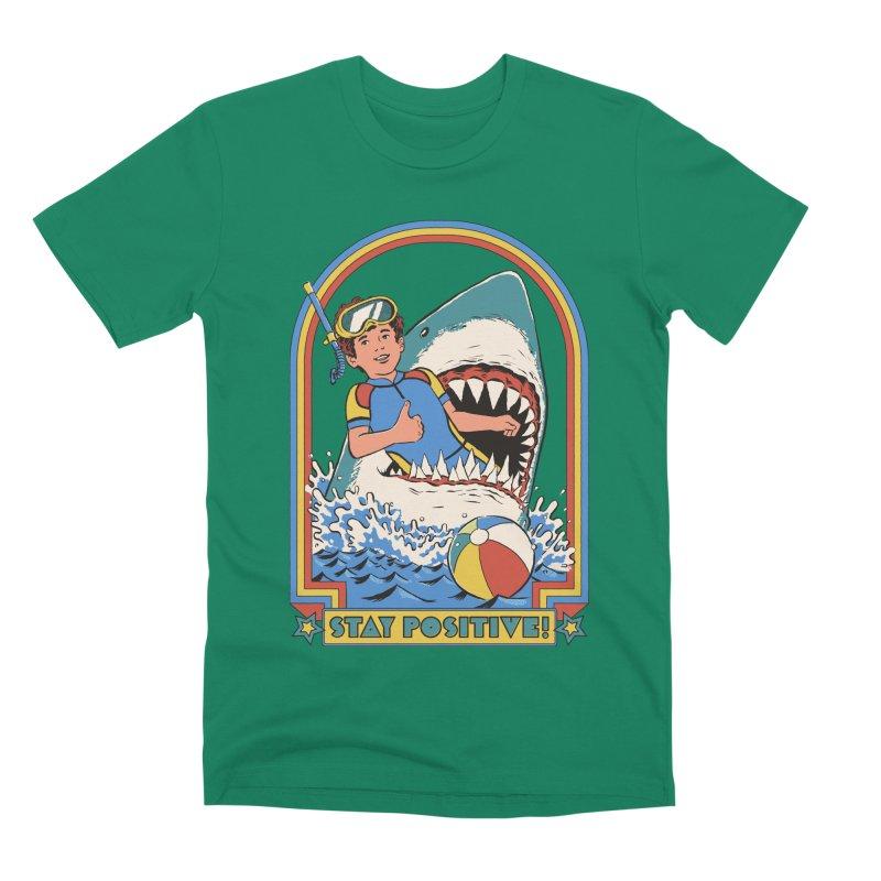 Stay Positive Men's Premium T-Shirt by Steven Rhodes