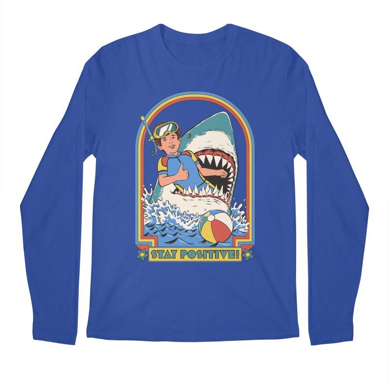 Stay Positive Men's Regular Longsleeve T-Shirt by Steven Rhodes