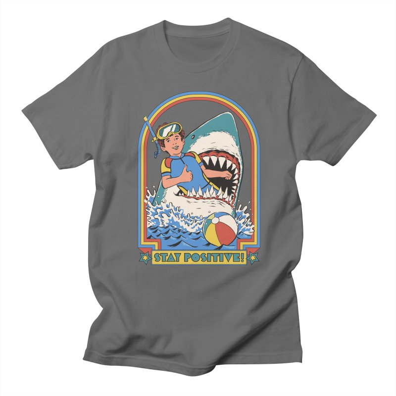Stay Positive Men's T-Shirt by Steven Rhodes
