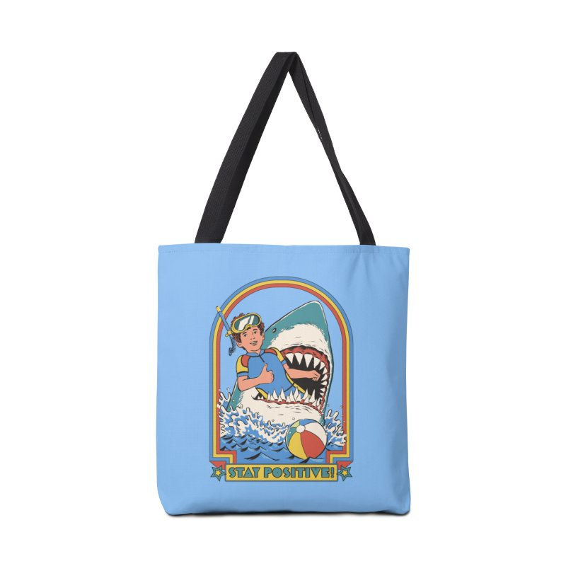 Stay Positive Accessories Tote Bag Bag by Steven Rhodes