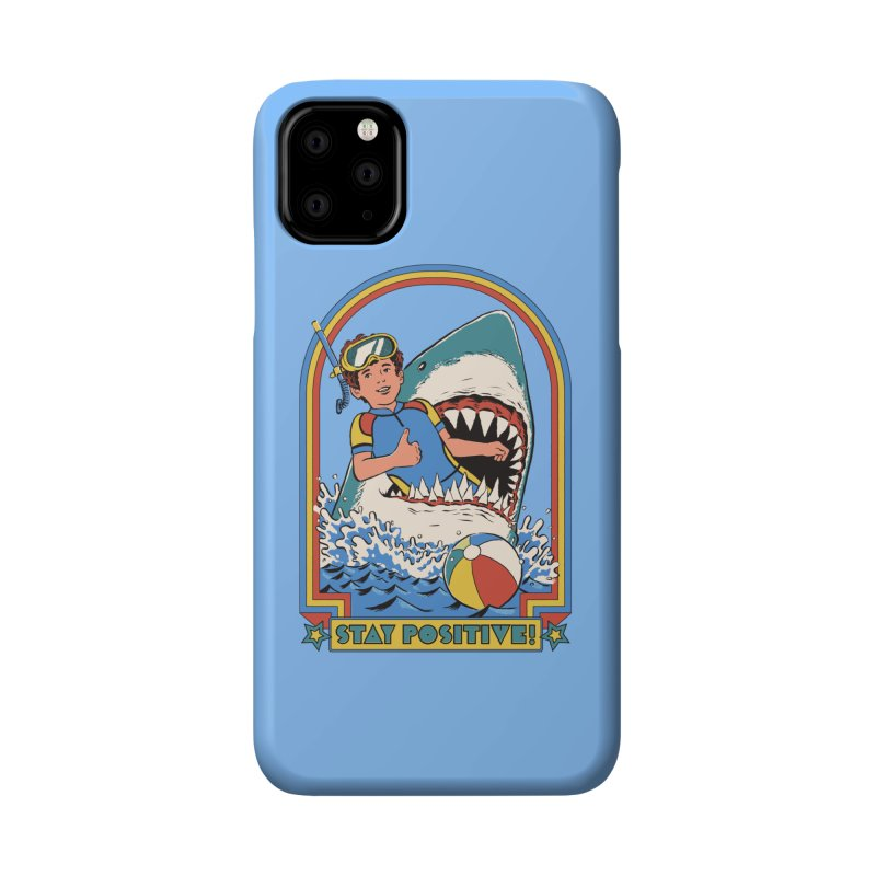 Stay Positive Accessories Phone Case by Steven Rhodes