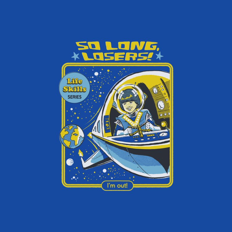 So Long, Losers Men's T-Shirt by Steven Rhodes