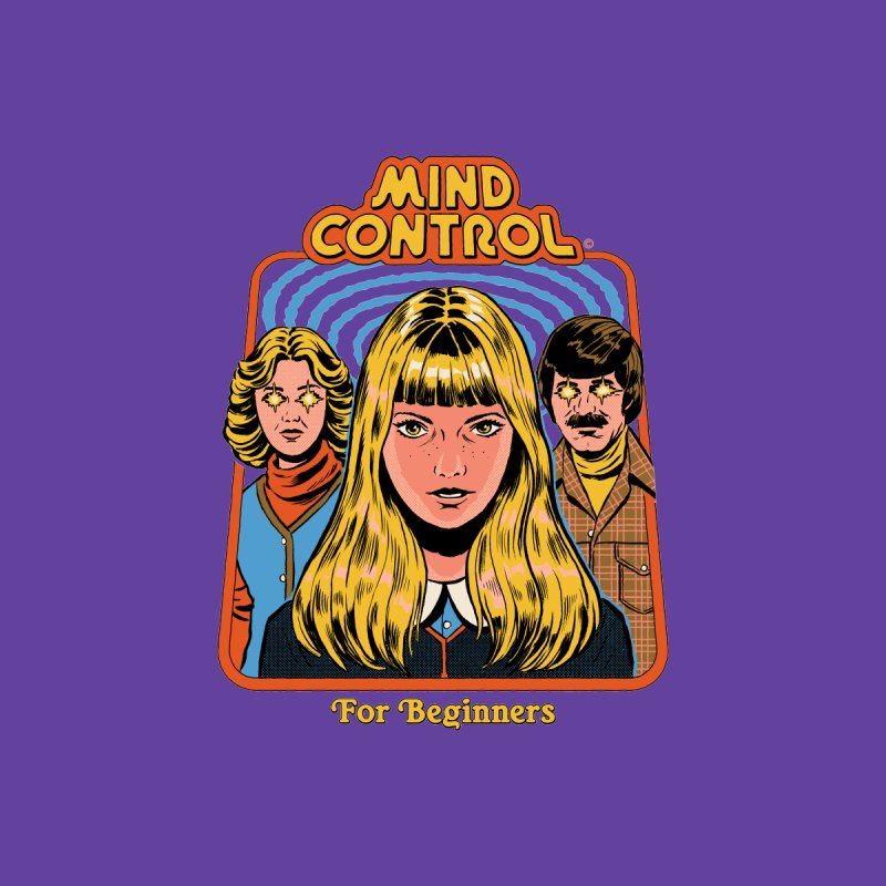 Mind Control For Beginners Men's T-Shirt by Steven Rhodes