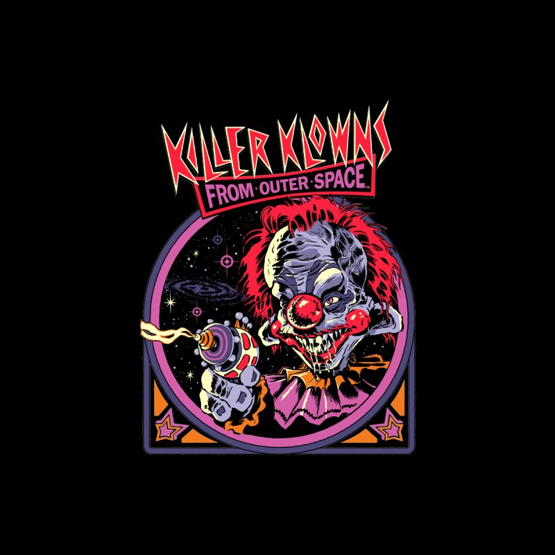 Killer Klowns Men's T-Shirt by Steven Rhodes