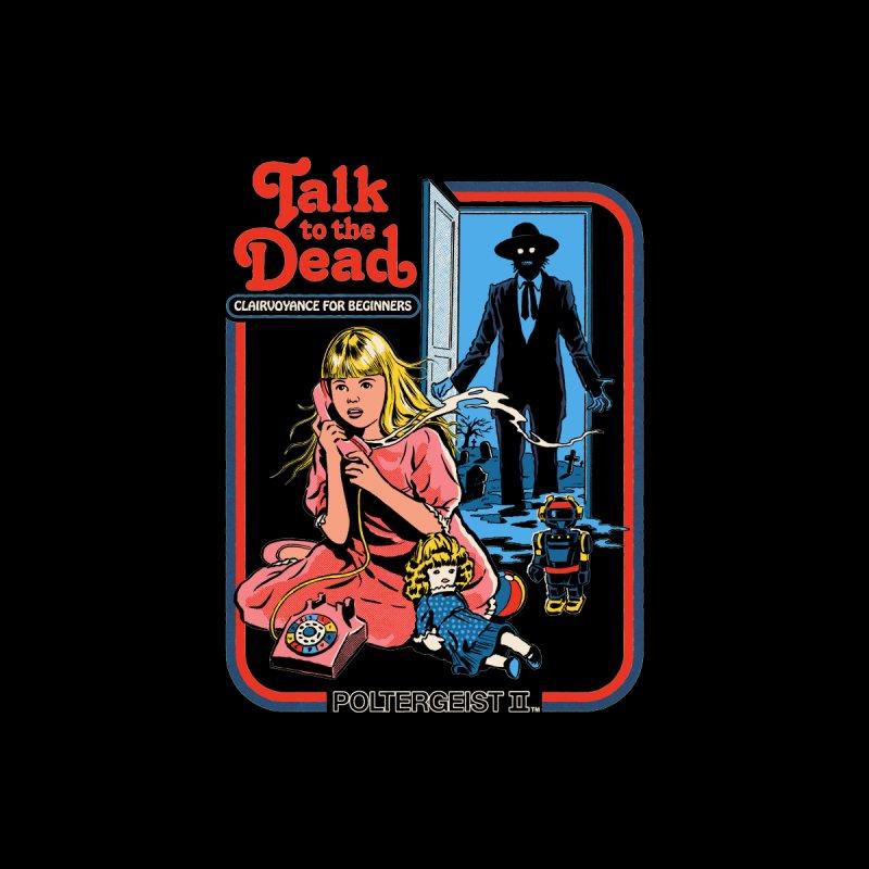 Talk To The Dead Men's T-Shirt by Steven Rhodes