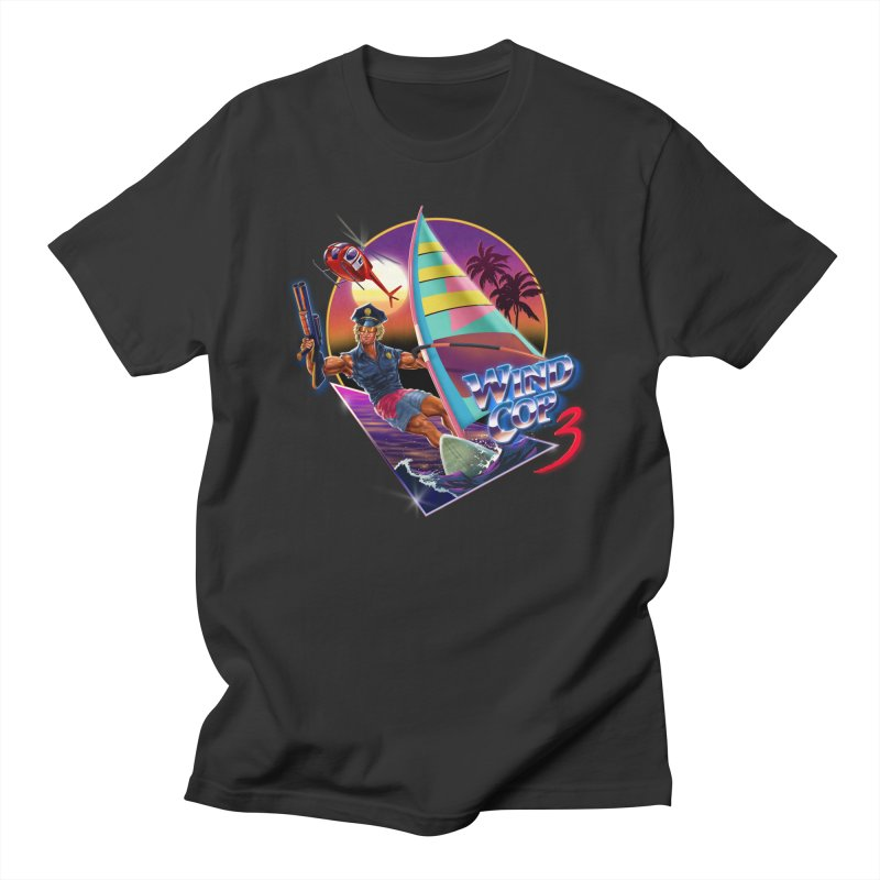 WIND COP 3 Men's T-Shirt by Steven Rhodes