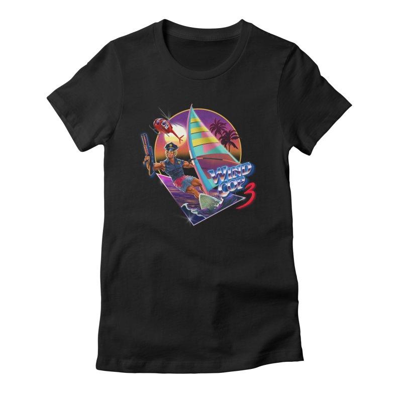 WIND COP 3 Women's T-Shirt by Steven Rhodes