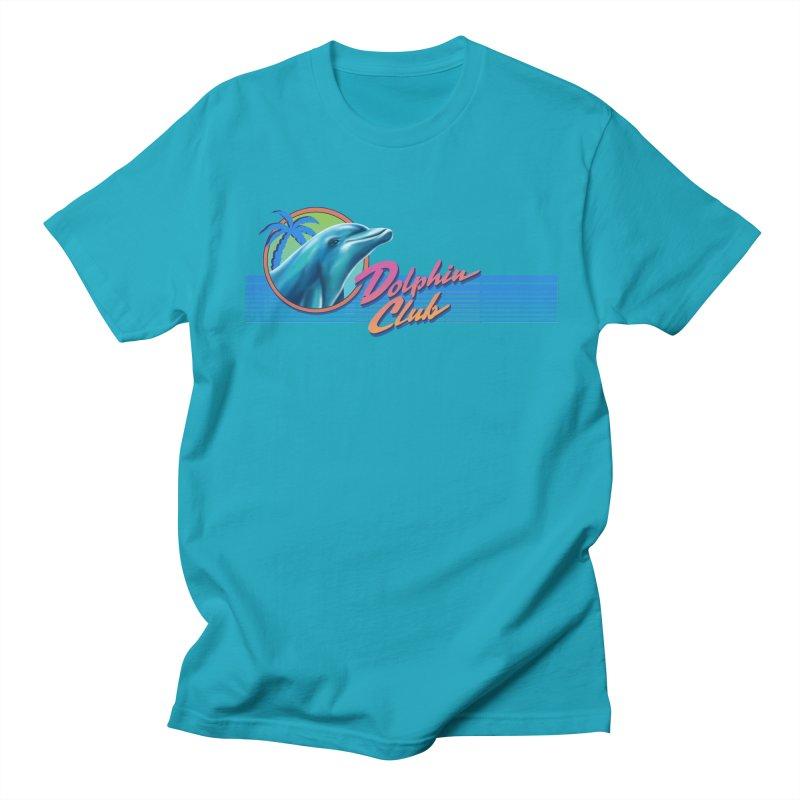 Dolphin Club Men's T-Shirt by Steven Rhodes