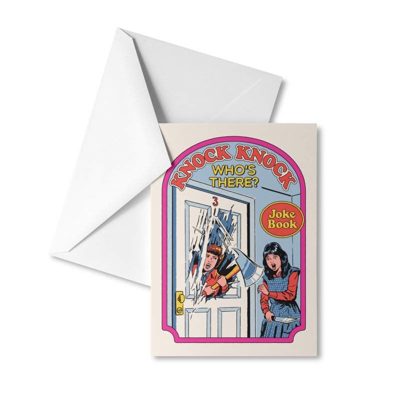 Knock Knock, Who's There? Accessories Greeting Card by Steven Rhodes