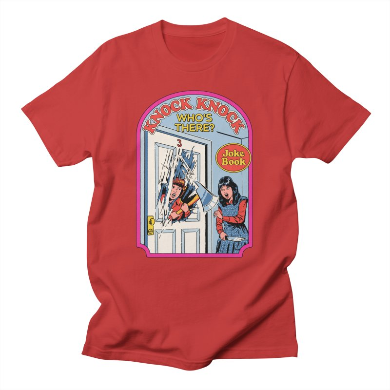Knock Knock, Who's There? Men's T-Shirt by Steven Rhodes