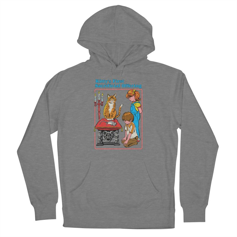 Kitty's First Offering Women's Pullover Hoody by Steven Rhodes