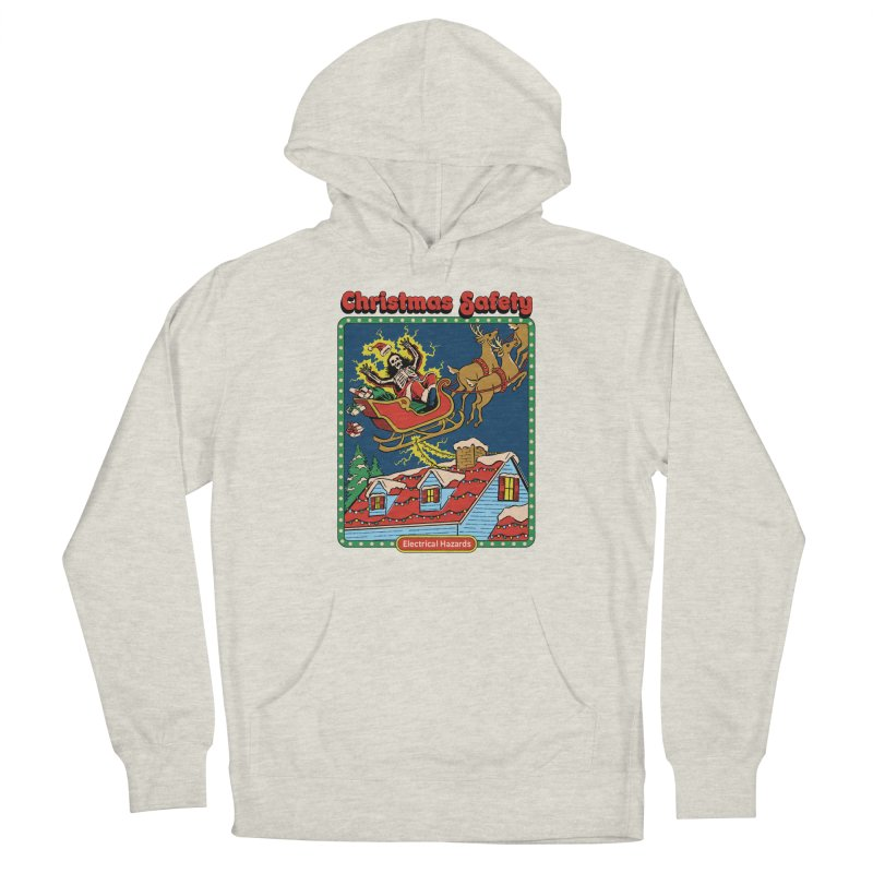 Christmas Safety Men's Pullover Hoody by Steven Rhodes