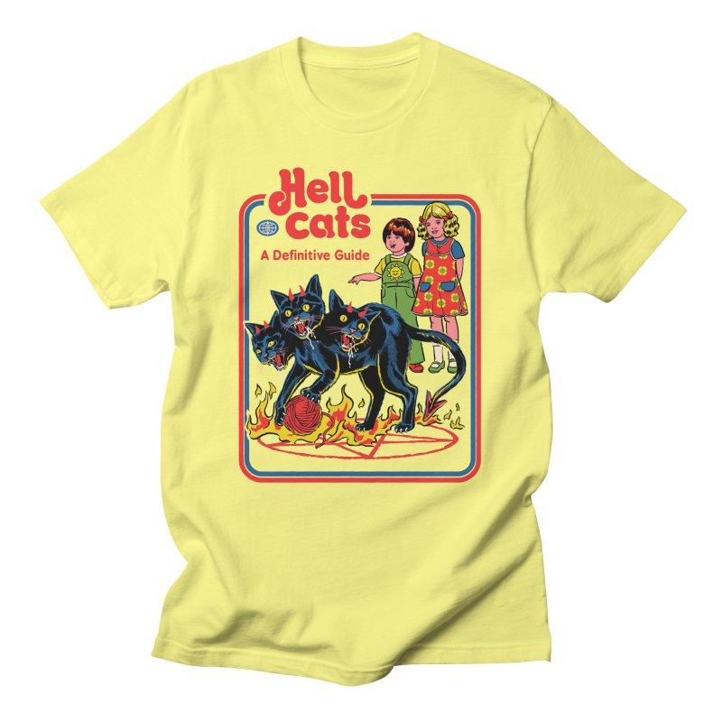 Hell Cats Men's T-Shirt by Steven Rhodes