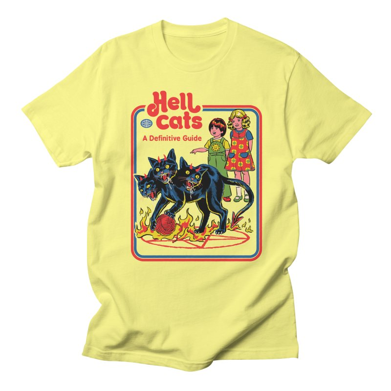 Hell Cats Men's T-Shirt by Steven Rhodes