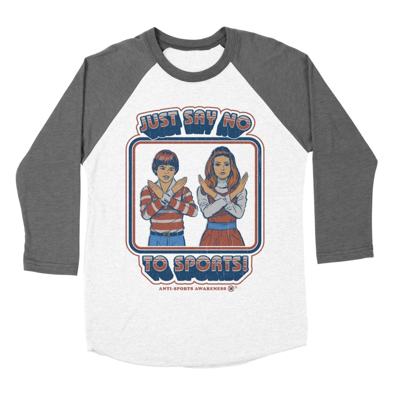 Say No To Sports Women's Longsleeve T-Shirt by Steven Rhodes