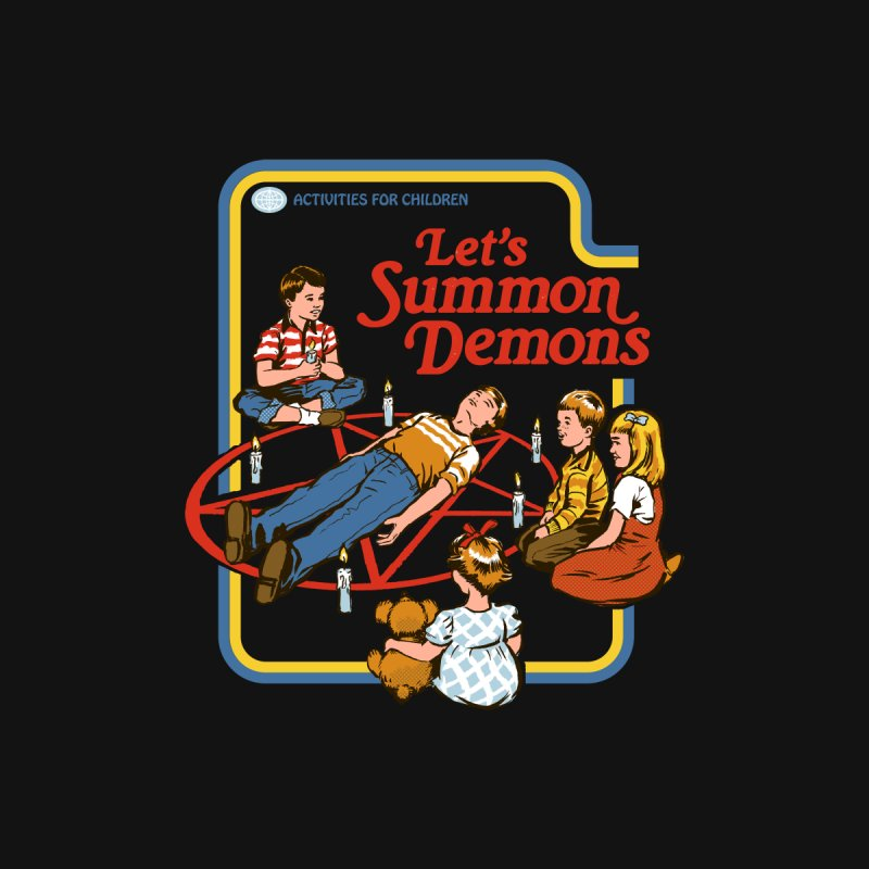 Let's Summon Demons Men's T-Shirt by Steven Rhodes