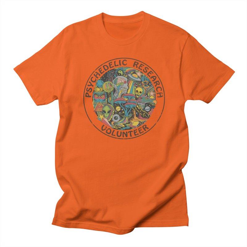Psychedelic Research Volunteer Men's T-Shirt by Steven Rhodes