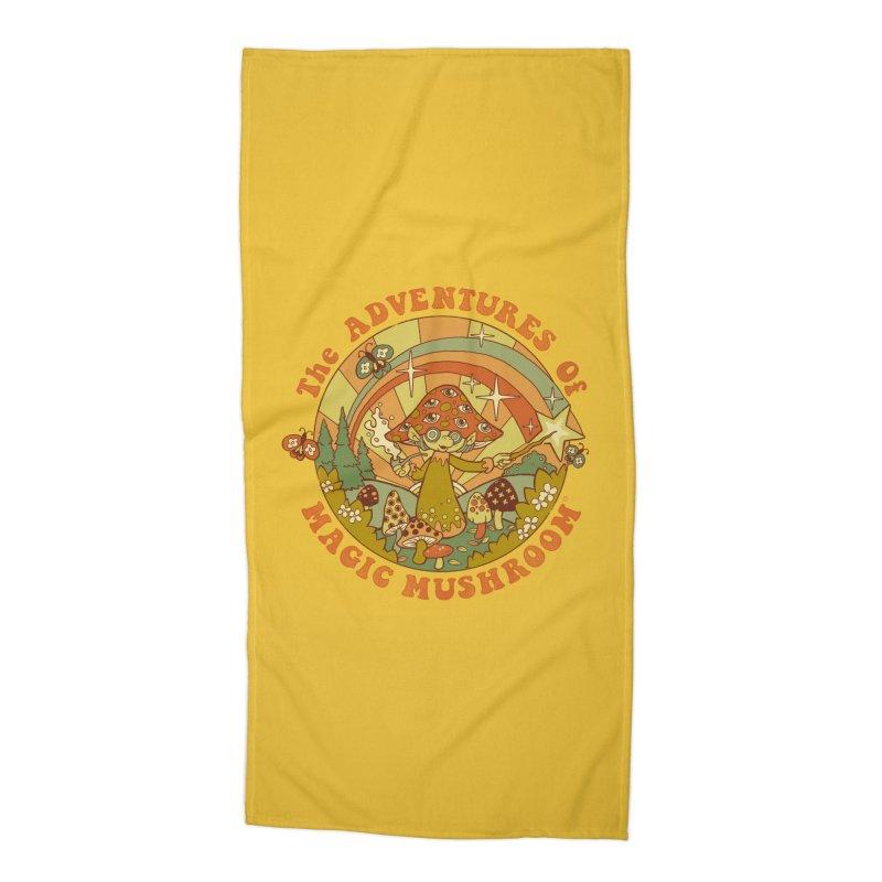 Magic Mushroom Accessories Beach Towel by Steven Rhodes