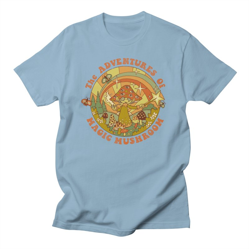 Magic Mushroom Men's T-Shirt by Steven Rhodes