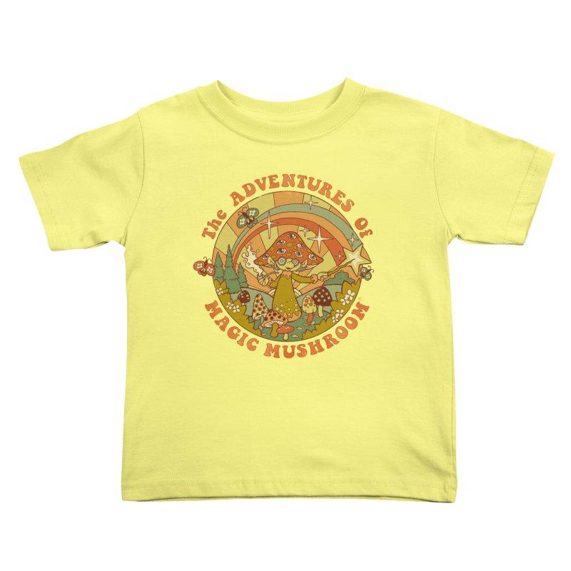 Magic Mushroom Kids Toddler T-Shirt by Steven Rhodes