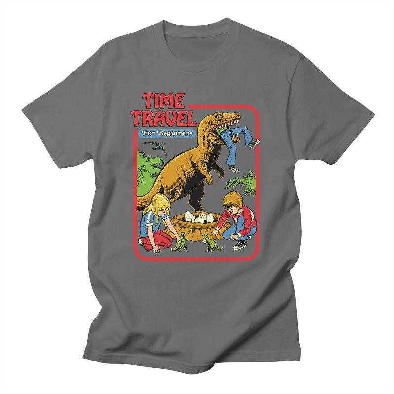 Time Travel For Beginners Men's T-Shirt by Steven Rhodes