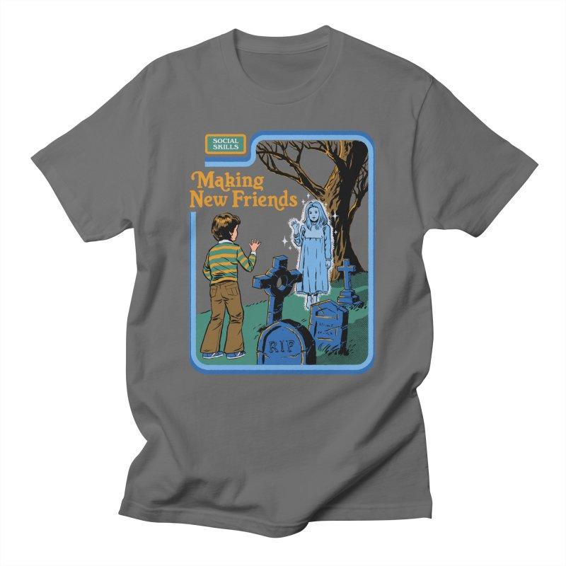 Making New Friends Men's T-Shirt by Steven Rhodes