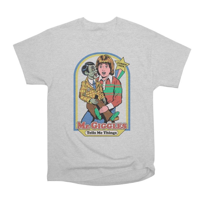 Mr. Giggles Men's T-Shirt by Steven Rhodes