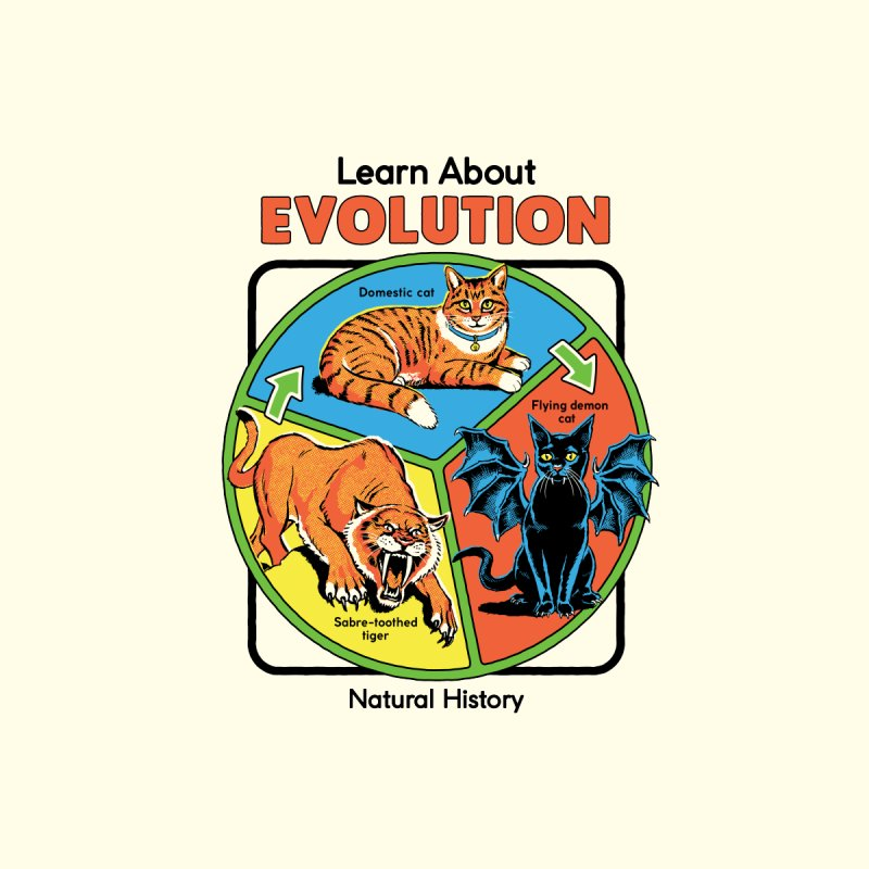 Learn About Evolution Men's T-Shirt by Steven Rhodes