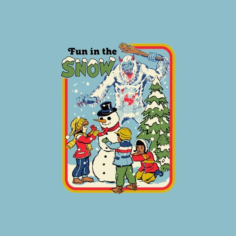 Fun In The Snow Men's Tank by Steven Rhodes