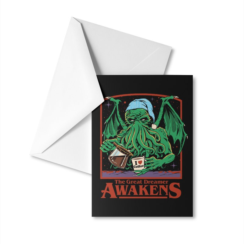 The Great Dreamer Accessories Greeting Card by Steven Rhodes