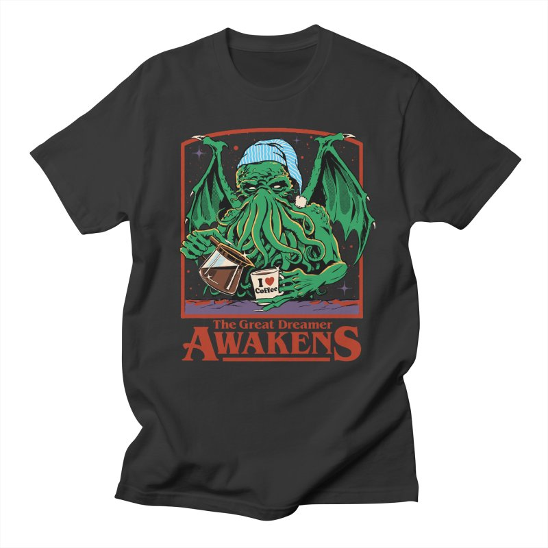 The Great Dreamer Men's T-Shirt by Steven Rhodes