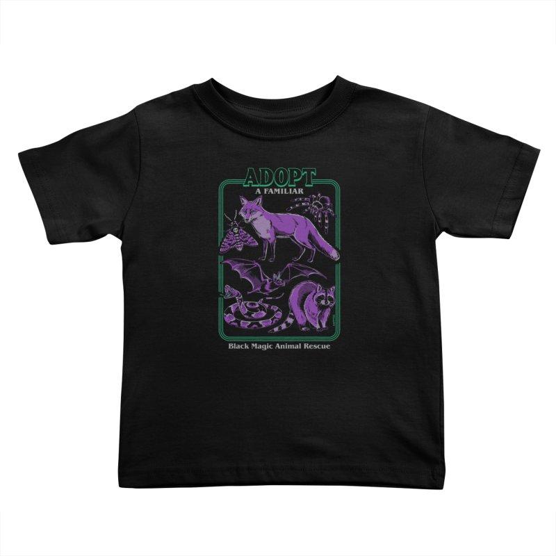 Adopt A Familiar Part 2 Kids Toddler T-Shirt by Steven Rhodes