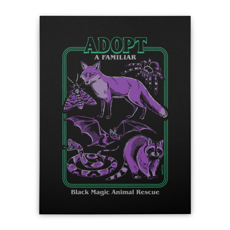 Adopt A Familiar Part 2 Home Stretched Canvas by Steven Rhodes