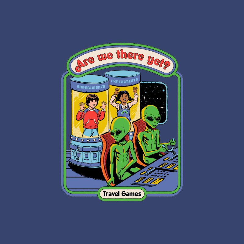 Are We There Yet? Home Stretched Canvas by Steven Rhodes