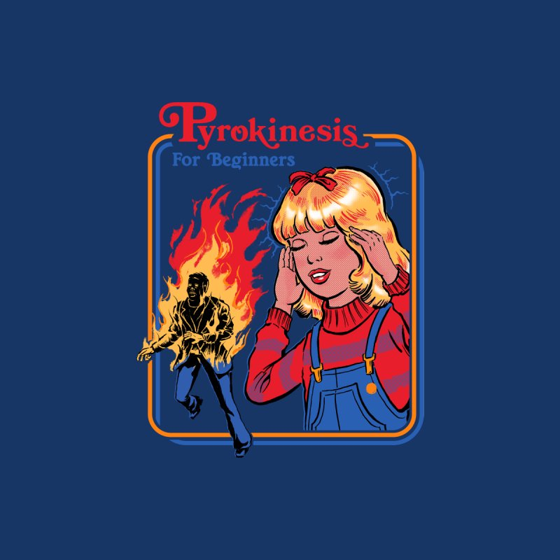 Pyrokinesis For Beginners Accessories Sticker by Steven Rhodes