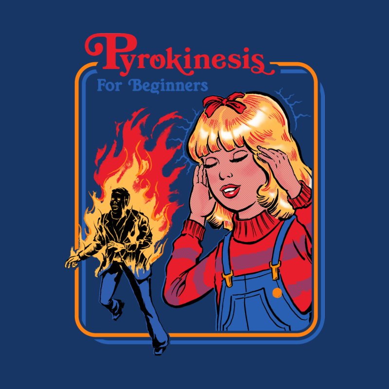 Pyrokinesis For Beginners Men's Triblend T-Shirt by Steven Rhodes