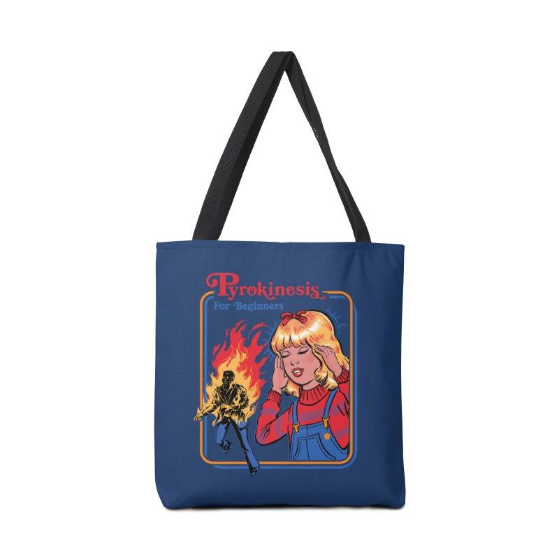 Pyrokinesis For Beginners Accessories Bag by Steven Rhodes
