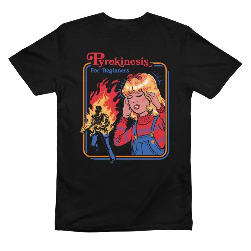 Pyrokinesis For Beginners Men's T-Shirt by Steven Rhodes