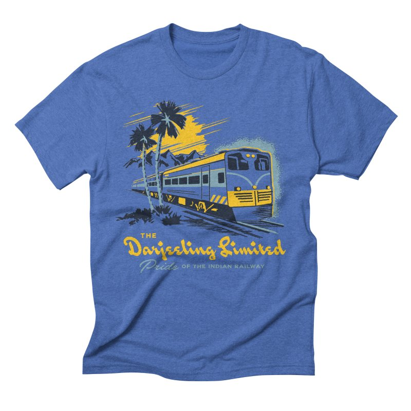 Darjeeling Limited Men's Triblend T-shirt by Steven Rhodes