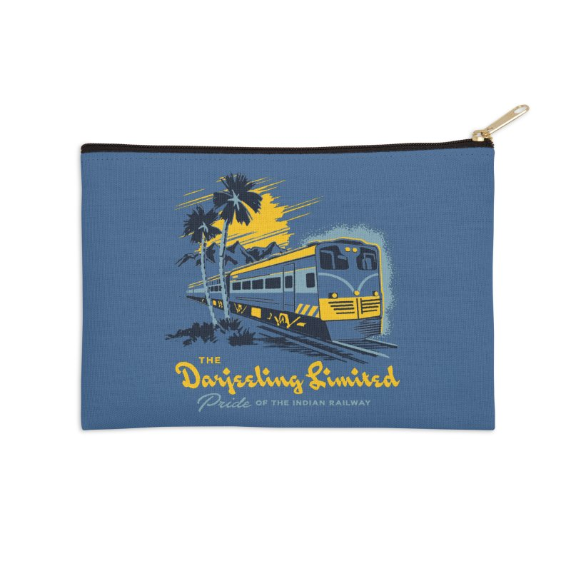Darjeeling Limited Accessories Zip Pouch by Steven Rhodes