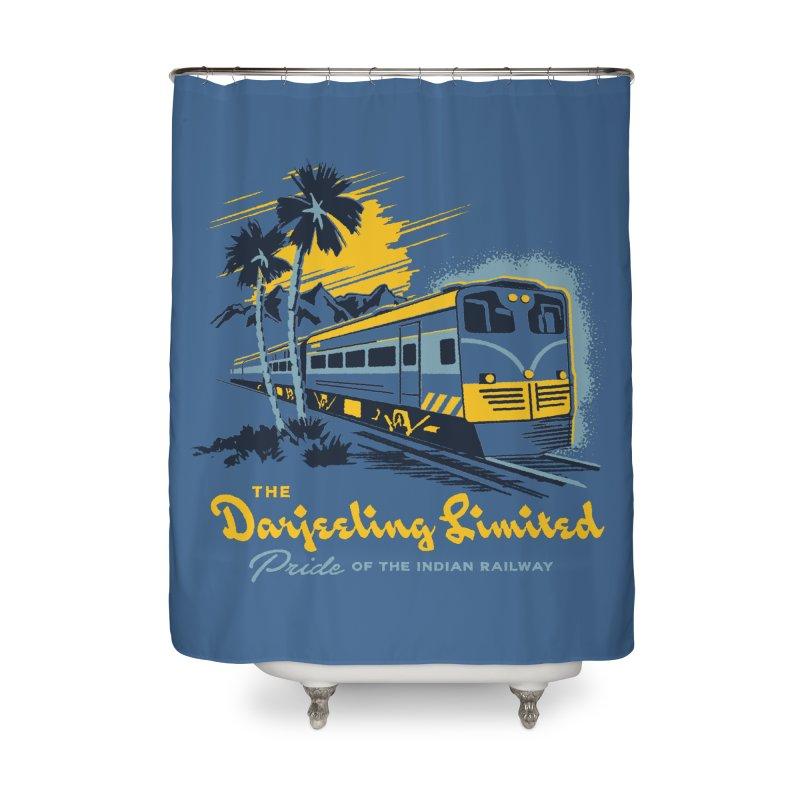 Darjeeling Limited Home Shower Curtain by Steven Rhodes