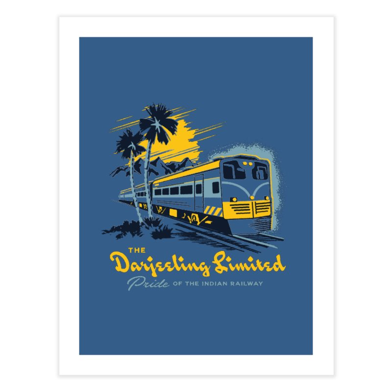 Darjeeling Limited Home Fine Art Print by Steven Rhodes