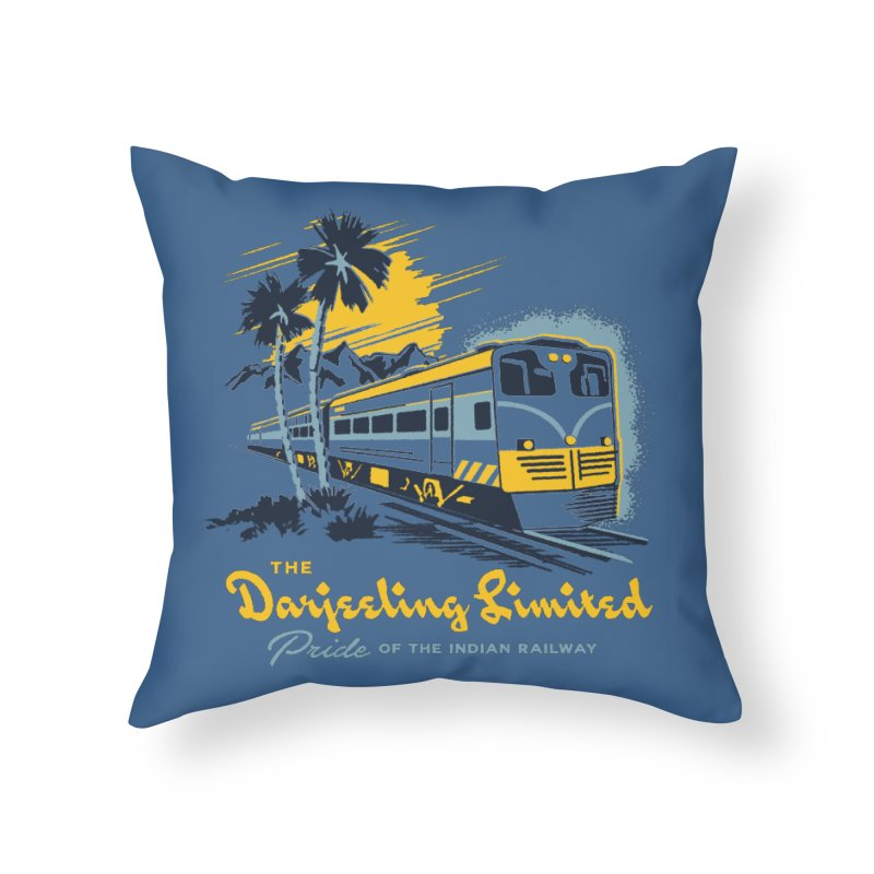 Darjeeling Limited Home Throw Pillow by Steven Rhodes