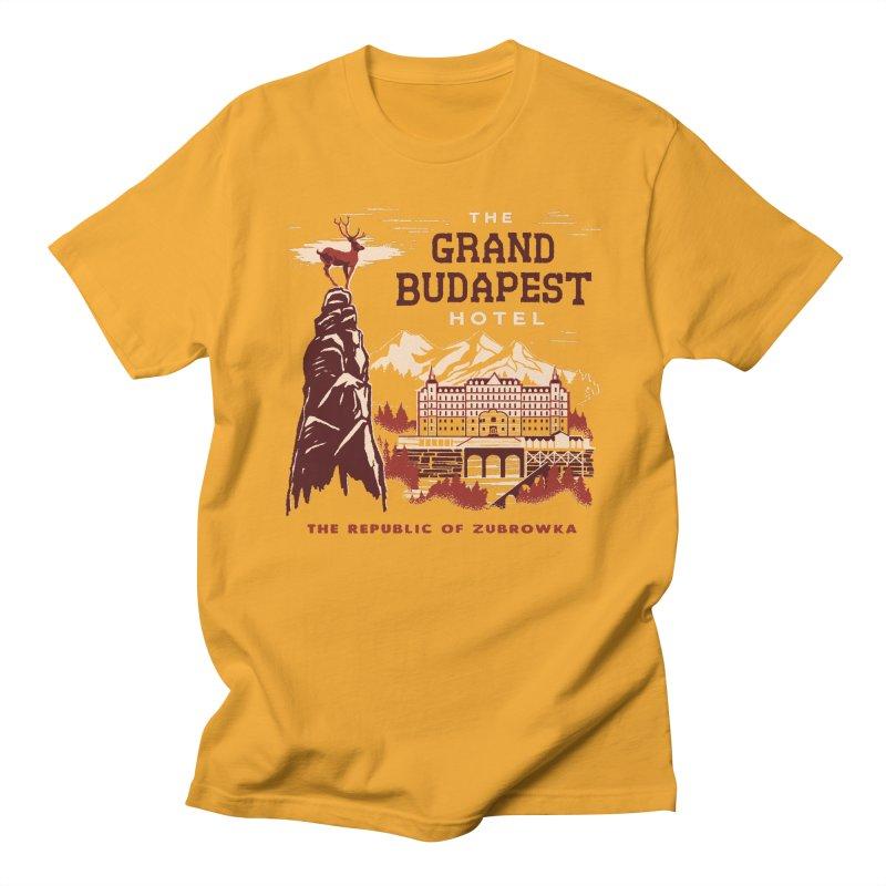 Grand Budapest Hotel Women's Unisex T-Shirt by Steven Rhodes