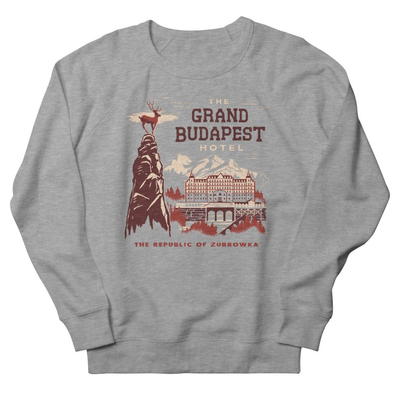 Grand Budapest Hotel Women's Sweatshirt by Steven Rhodes