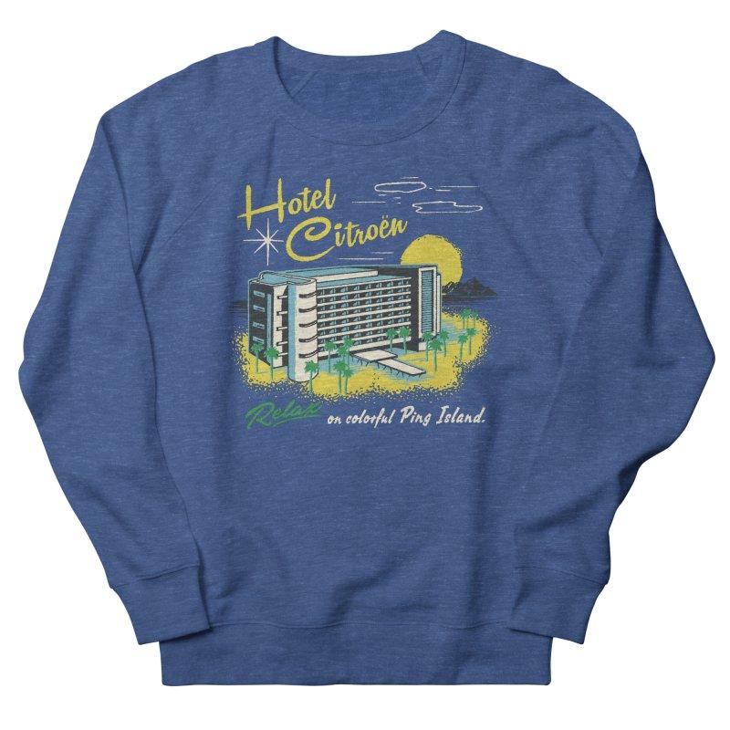 Hotel Citroen Men's Sweatshirt by Steven Rhodes