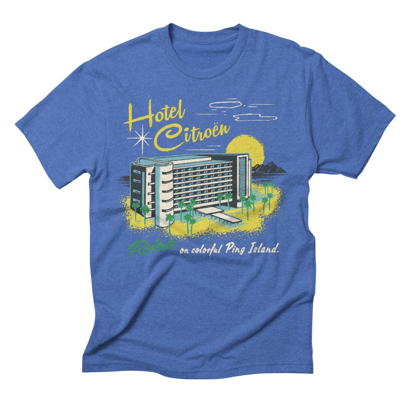 Hotel Citroen Men's Triblend T-shirt by Steven Rhodes