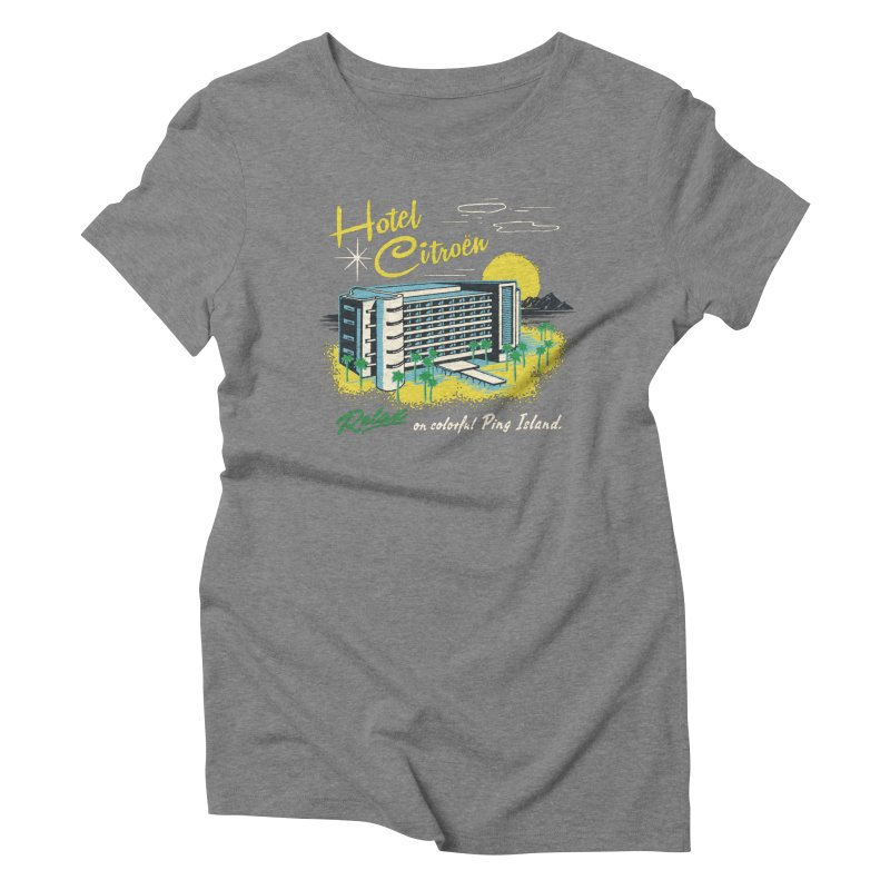 Hotel Citroen Women's Triblend T-shirt by Steven Rhodes