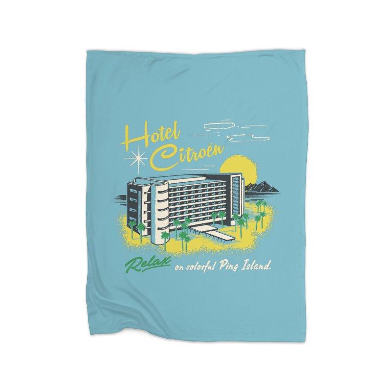 Hotel Citroen Home Blanket by Steven Rhodes
